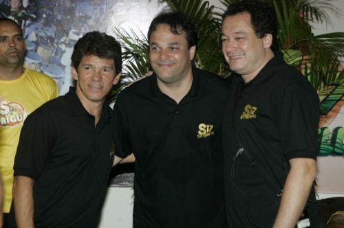 Carvalhinho, Enio Carlos e Pedro Neto