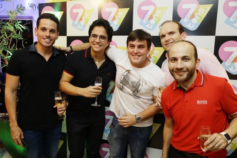 Rafael Sa, Panta Neto, Wembley e Milson e Carlinhos Aristides