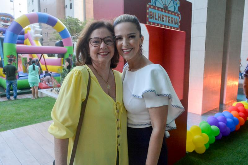 Adriana Neves e  Naiana Philomeno