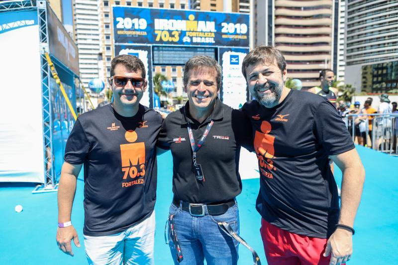 Rogerio Pinheiro, Carlos Galvao e Elcio Batista
