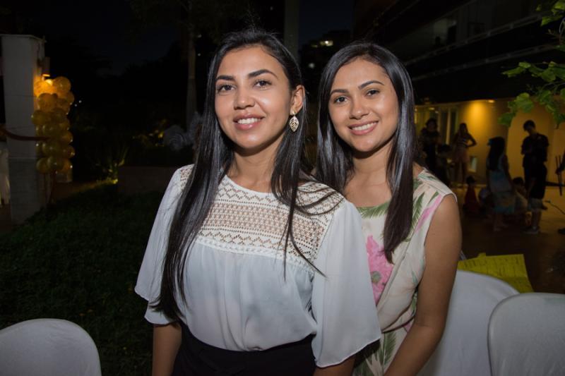 Marilia Rodrigues e Marta Lima