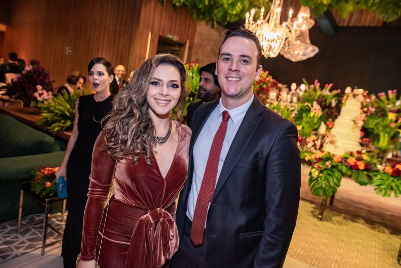 Gabriela Carvalho e Andre Fiuza
