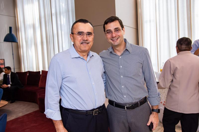 Roque Albuquerque e Luiz Miranda
