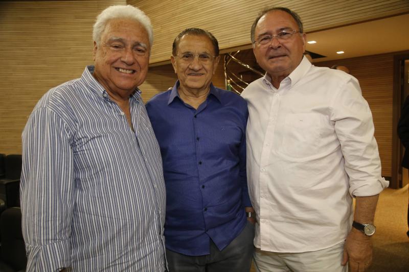Waldir Diogo, Alfredo Costa e Edmilson Lima