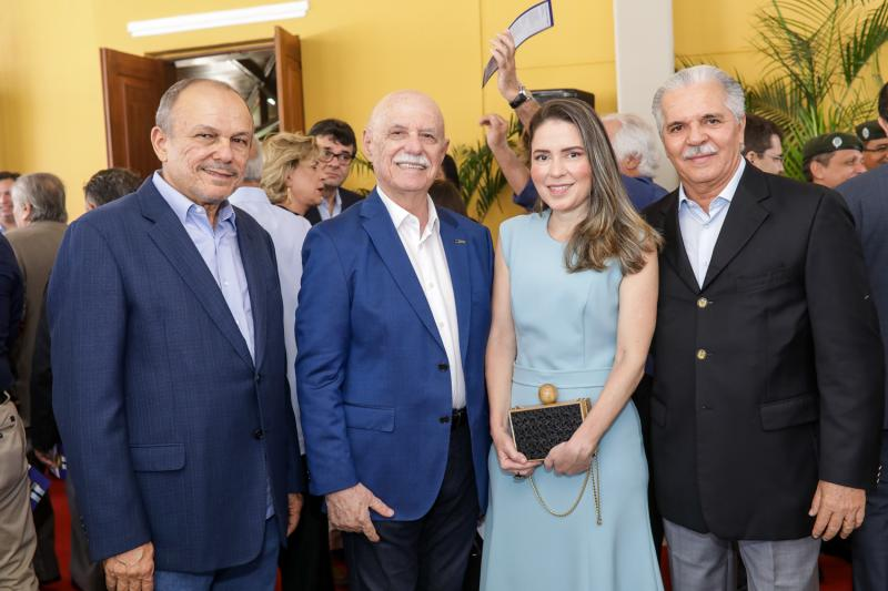 Honorio Pinheiro, Freitas Cordeiro, Agueda Muniz e Pio Rodrigues