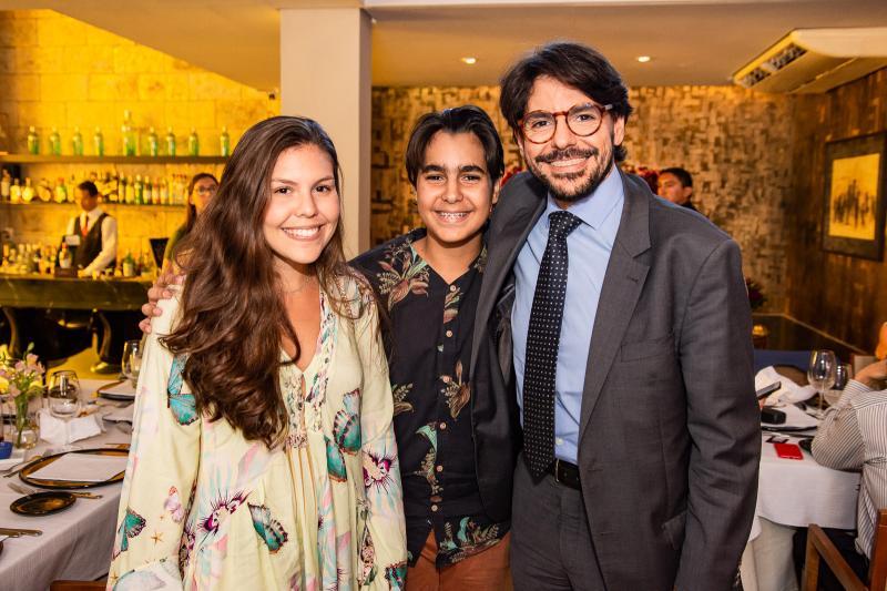 Ana Paula Araujo, Paulo Marcony e Paulo Wanderley