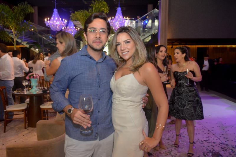 Diego Nogueira e Lina Ponte
