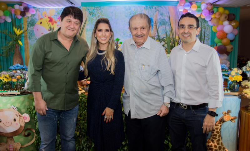 Afonso, Georgeanne, Mauro e Marcio Benevides