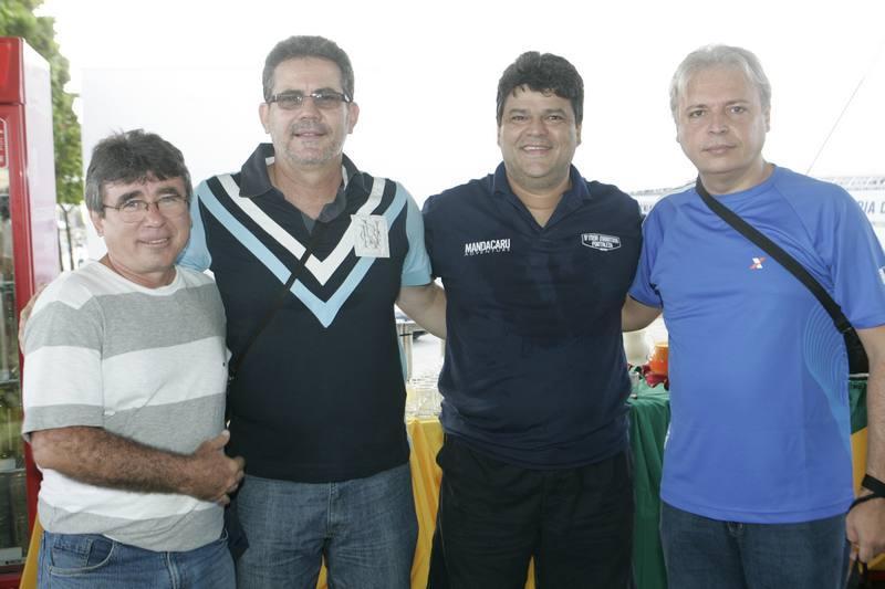 Professor Americo, Ricardo Vaunravem, Colombo Cialdini e Wellington Nunes