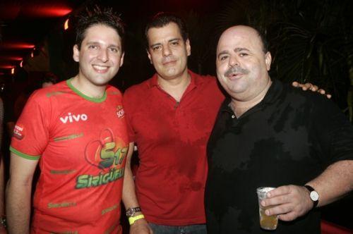 Daniel Otoch, Magno Nogueira e Ricardo Cabral