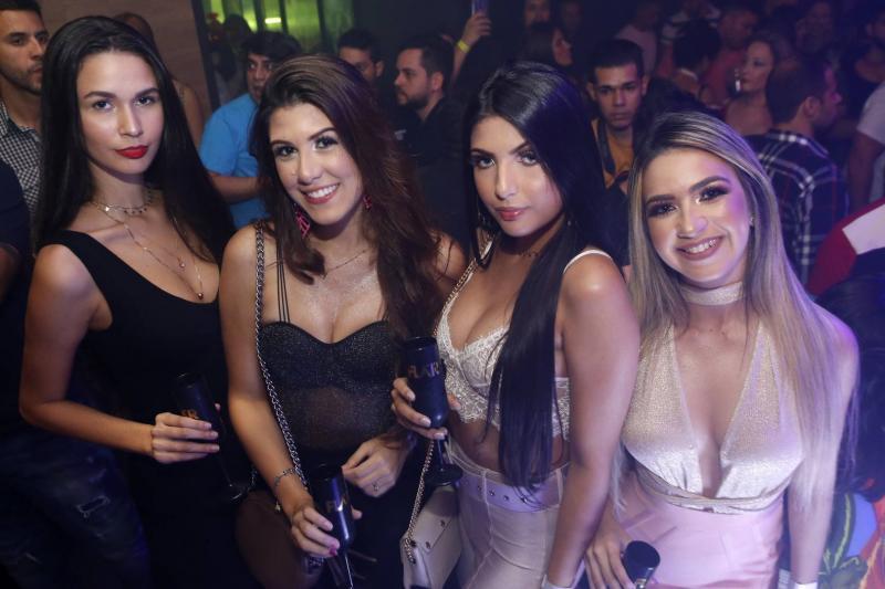 Ariane Oliveira, Yana Montenegro, Luana Dafne e Carla Rocha
