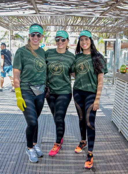 Suzana, Surama e Gabriela Geleilate