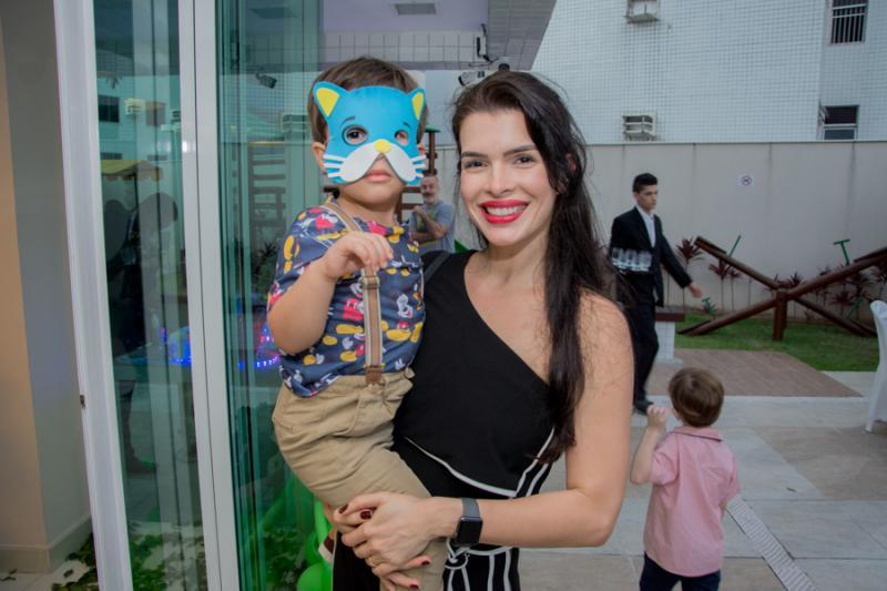 Marcio Filho e Nadia Fortaleza