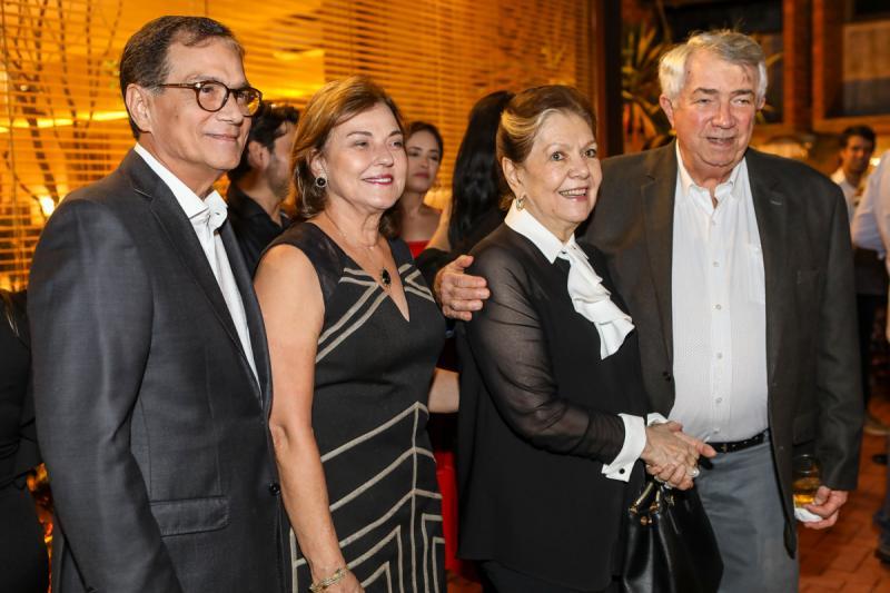 Beto e Ana Studart, Tania e Roberto Macedo