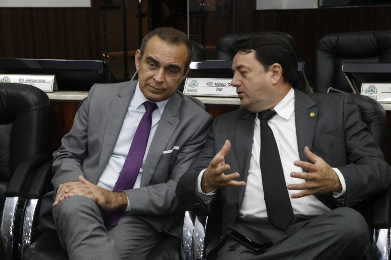 Hervelt Cesar e Benigno Junior