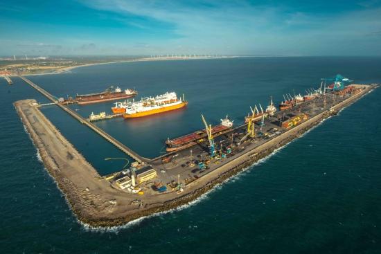 Exportações cearenses acumulam US$ 1,1 bi no semestre