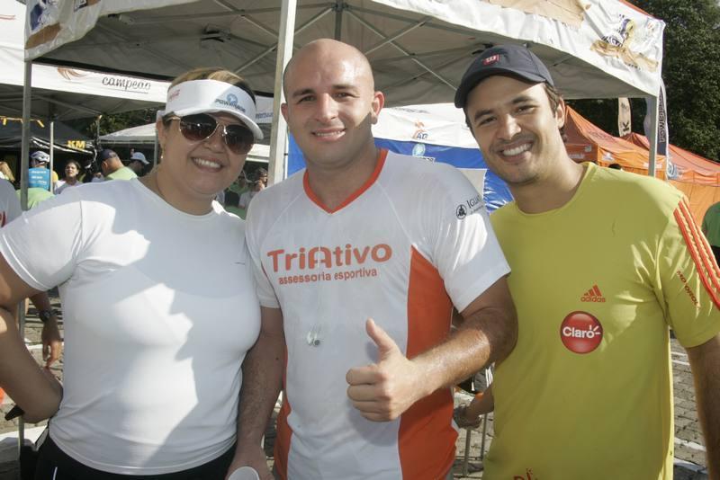 Renata Mendes, Tiago Facundo e Felipe Aragao
