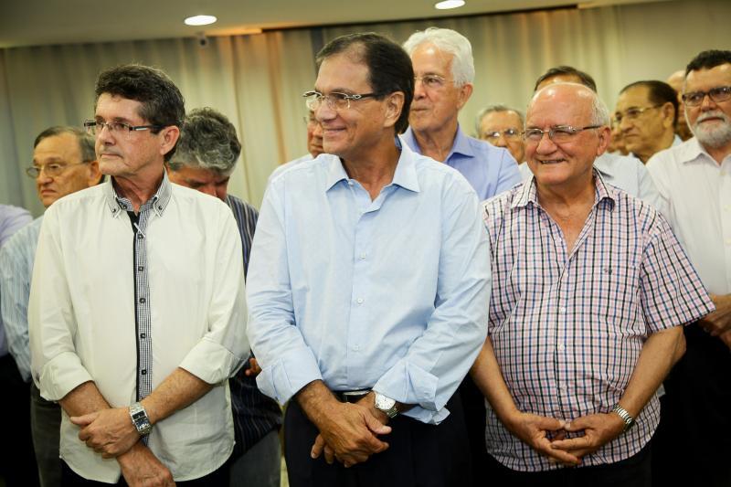 Francilio Dourado, Beto Studart e Aluisio Ximenes