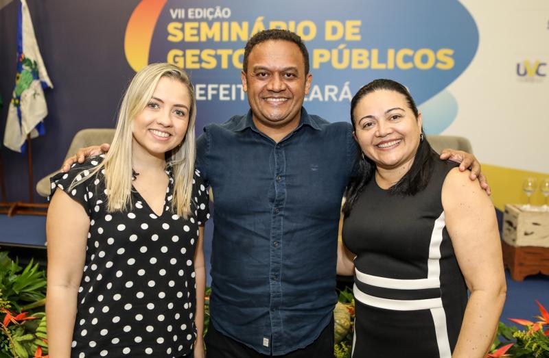 Elenia Carvalho, Chef Marcos Monteiro e Rejane Costa