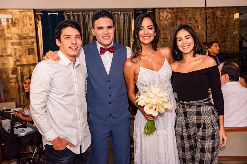 Edson Neto, Marcos Lessa, Jeycielle Oliveira e Bia Brasileiro