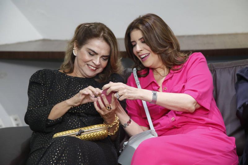 Keyve Machado e Juliana Melo