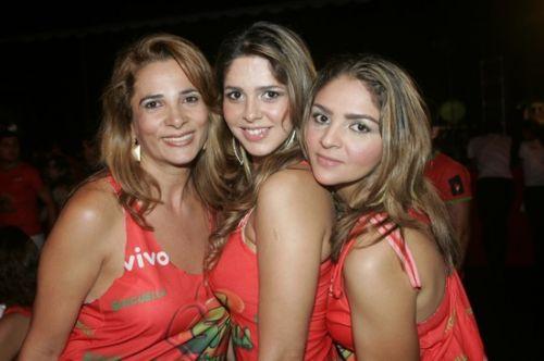 Meire Albuquerque, Carmem e Gislaine Cavalcante