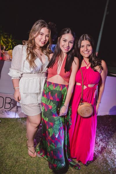 Marcela Dias Branco, Ligya Duarte e Gabriela Parente