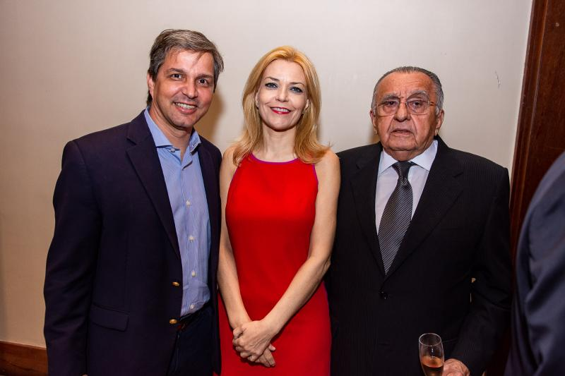 Romulo Alexandre, Ana Cristina Pedroso e Joao Carlos Paes Mendonca