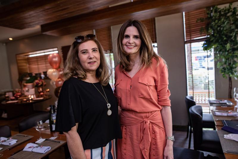 Joria Araripe e Viviane Bayman