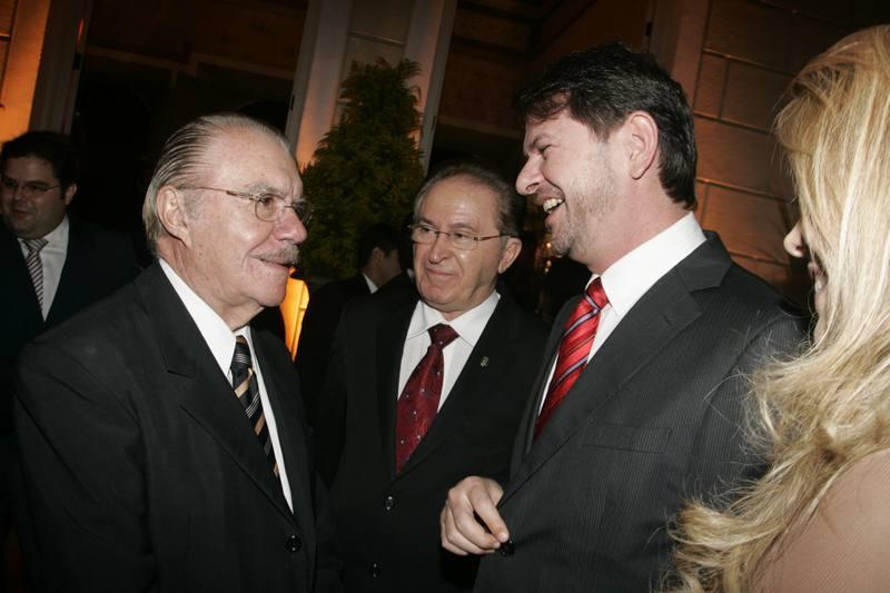 Jose Sarney, Joao Melo e Cid Gomes