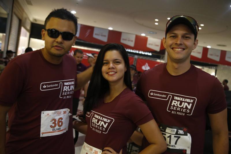 Elias Bruno, Amanda Vieira e Gabriel Lobo