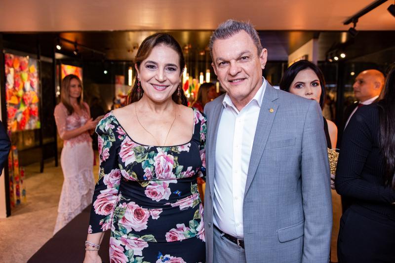 Patricia Macedo e Sarto Nogueira