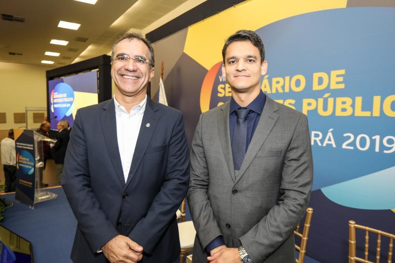 Eduardo Neves e Rodrigo Burbom