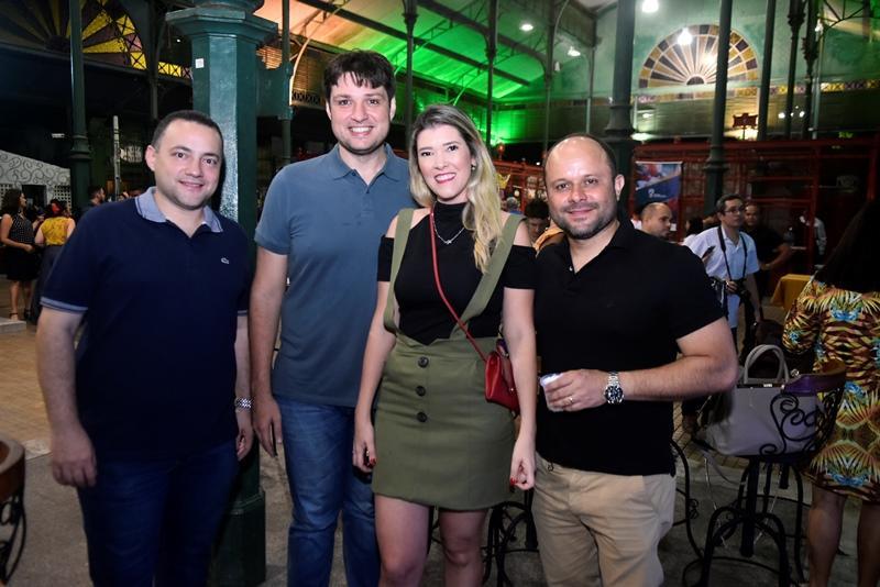 Amaro Rodrigues, Vinicius Linhares, Inez Gurgel, Leonardo Ferreira
