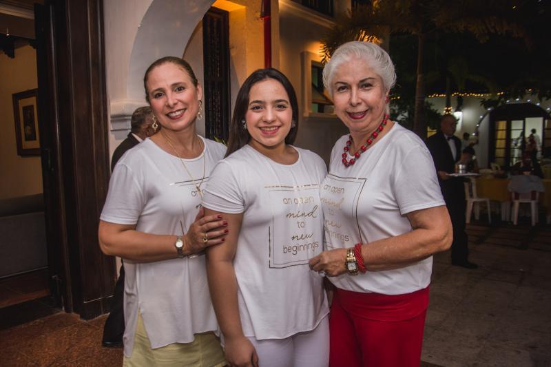 Samira, Alodinha e Alodia Guimaraes