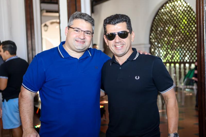 Mario Queiros e Erick Vasconcelos