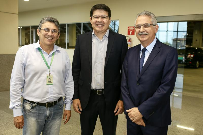 Cilas Alencar, Silvio Carlos e Nilson Diniz
