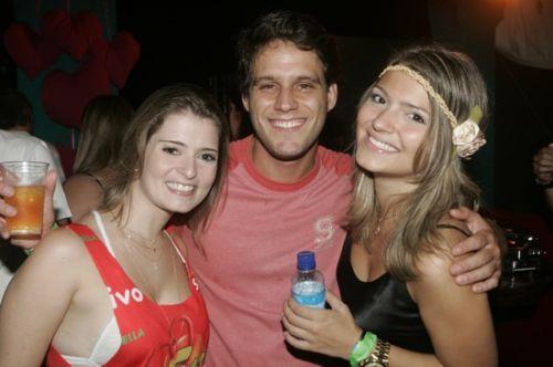Claudia Brasil, Leonardo Saad e Juliana Goveia