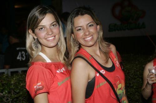 Alina Abreu e Andrea Fernandes