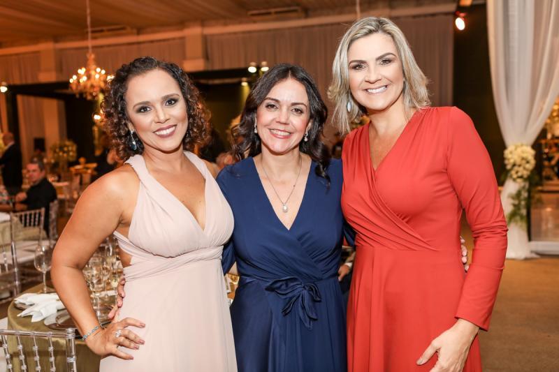 Monica Rocha, Veridiana Soares e Erica Bezerra