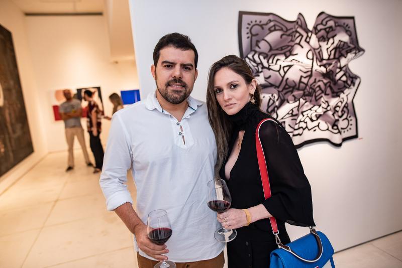 Eduardo Oliveira e Ligia Feitosa