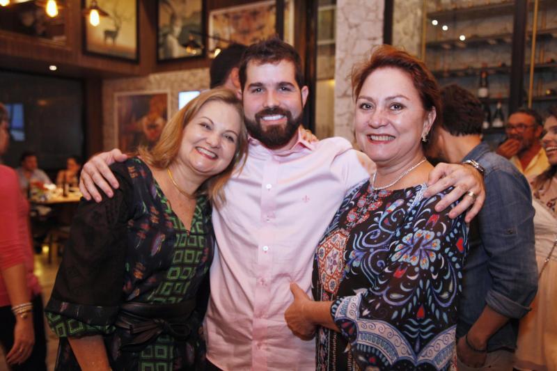Lenise Rocha, Felipe Rocha e Paula Frota