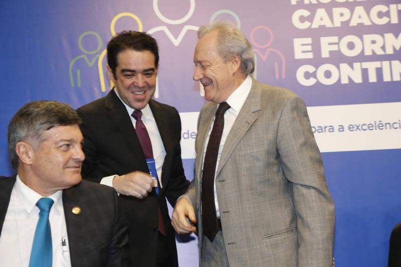 Cid Marconi, Bruno Dantas e Ricardo Lewandowiski