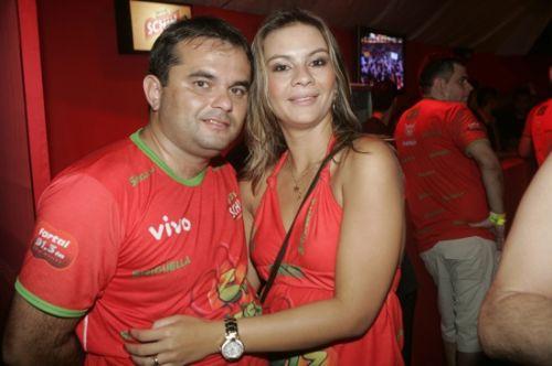 Pedro Pinheiro e Vanessa Diogenes