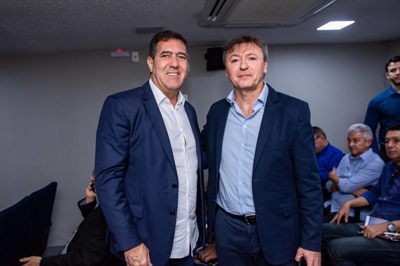 Luiz Gastao Bittencourt e Mauricio Filizola