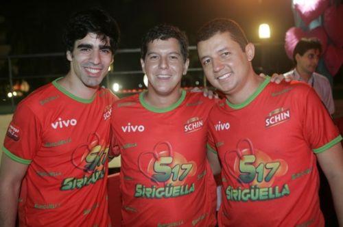Eymar Freire, Marcelo Lopes e Hemrique Ferbentz