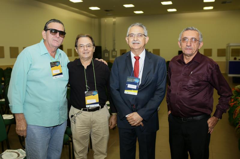 Welington Vasconlos,Antonio Melo, Nilson Diniz e Francisco Wildes