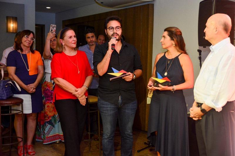 Beatriz Fiuza, Vinicius Machado, Marcia Travessoni e Lauro Fiuza