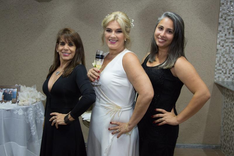 Creuza Moreira, Adriana Moreira e Bruna Monteiro