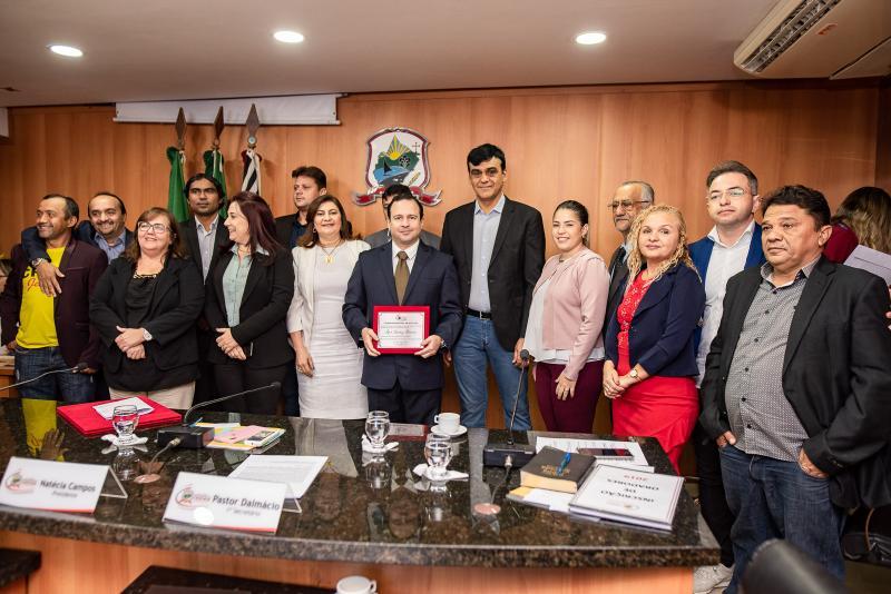 Igor Queiroz Barroso e Homenagiado Cidadao de Caucaia